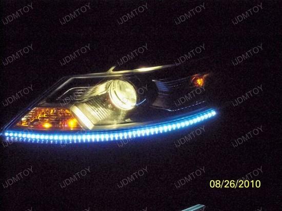 Ford - Taurus - Audi - style - LED - strip - lights - 8